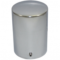 "Oil Filter Cover that's Reusable & 5-3/16"" Tall - Chrome"