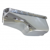 Mopar 331-392 Early Hemi 1955-58 Engine Oil Pan - Chrome