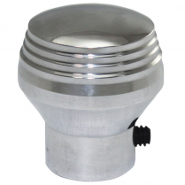 "Dash Knob with 1/8"" Hole - Satin Aluminum"