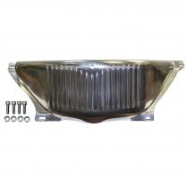 GM Turbo 350 & 400 Flywheel Dust Cover - Polished Aluminum