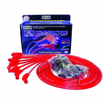 Taylor 135 Degree Boot V-8 Spark Plug Wire Set - Red