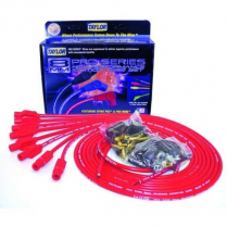 Taylor 180 Degree Boot V-8 Spark Plug Wire Set - Red