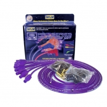 Taylor Straight Boot V-8 Spark Plug Wire Set - Purple