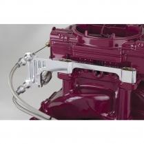 Carburetor Bracket Kit for Edelbrock Dual Quads - Stainless