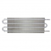 """Transmission Cooler 15.5"""" x 5"""" x .75"""" with 3/8"""" outlets"""