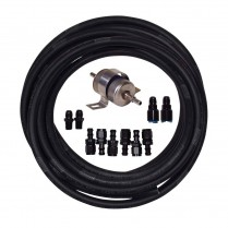 -6 AN Universal Fuel Line Kit with 10 Micron Fuel Filter