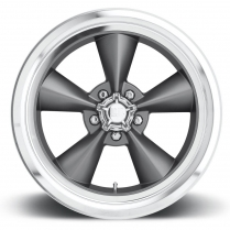 "17x7 Standard Wheel, 5"" x 4.5"" BP, 4"" BS - Gun Metal"