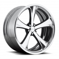 "18x7 Milner Wheel, 5"" on 4.75"" BP, 4"" BS - Polished"