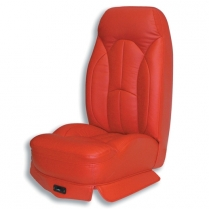 "16.5"" Reclining Bucket Seat Frame with Foam & Leather"