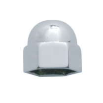 "Acorn Die Cast Nut Cover 9/16"" x 11/16"" - Chrome"