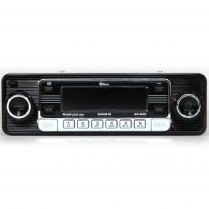 Universal DIN Mount AM/FM Radio with 1 Disc CD- Black