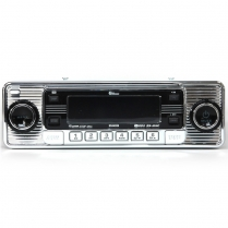 Universal DIN Mount AM/FM Radio with 1 Disc CD