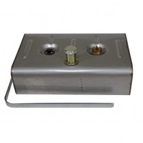 "UT Universal Fuel Tank w/3"" Threaded Neck & Cap - Stainless"