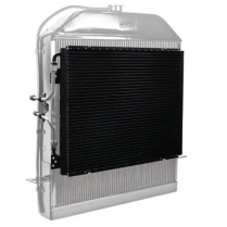 1939-40 Ford Super Flow Condenser Kit with Hard Lines
