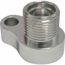 SD7 A/C Compressor Adapter #8 Female O-Ring - Polished