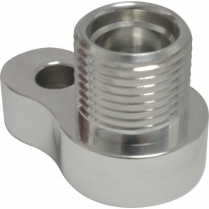 SD7 A/C Compressor Adapter #10 Female O-Ring - Polished