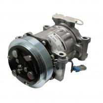 Sanden Delco Replacement A/C Compressor Serpentine - Plain