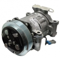 Sanden Delco Replacement A/C Compressor Serpentine- Polished