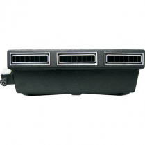 Mini Under Dash Slimline Heat / Cool Evaporator Black Vents