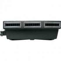 Mini Under Dash Slimline Cool Evaporator Kit - Black Vents