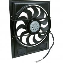 """LoPro Electric Fan & Shroud 18.625""""x20.75""""x2.62"""" - 2700 cfm"""