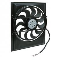 """LoPro Electric Fan & Shroud 21.75""""x20""""x2.62"""" - 2700 cfm"""