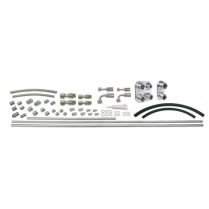 ProLine A/C Line Kit without Bulkheads - Stainless Steel