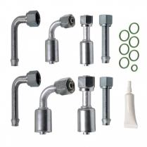 Beadlock Type 4 Way Bulkhead Fitting Kit
