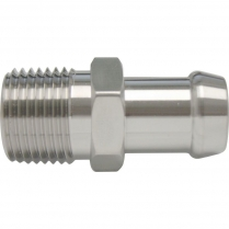"Heater Hose Fitting 5/8"" x 1/2"" NPT x 1-3/16"" - Stainless"