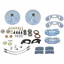 1965-69 Mustang for V-8 Spindles Front Disc Brake Kit