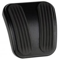1966-77 Bronco Curved E-Brake Pedal Pad - Black & Rubber