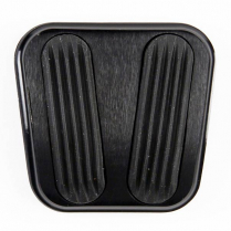 1960-66 Chevy/GMC P/U Curved E-Brake Pad - Black & Rubber