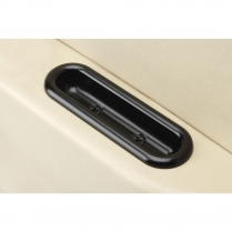 Oval Shaped Arm Rest Door Pulls - Black