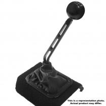 "TKO 500 & 600 Manual 10"" 1 Bend Shifter Stick - Black Alum"